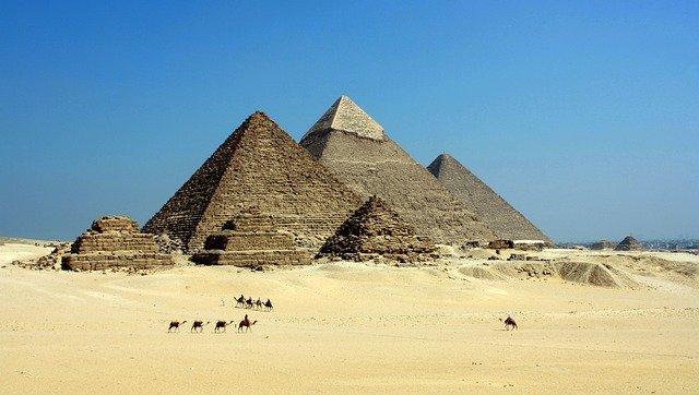 L'histoire des pyramides d'Égypte